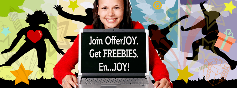 Get great Freebies to Review and Online Contests with OfferJOY