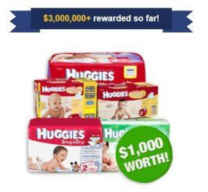Get Huggies Diapers
