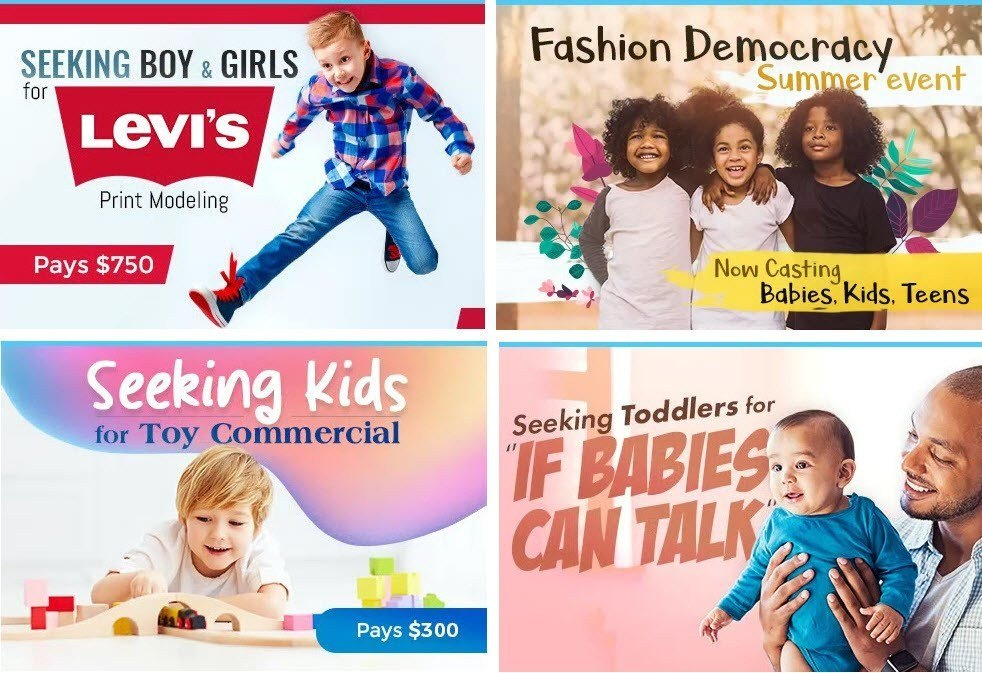 Modeling Jobs for Babies Kids