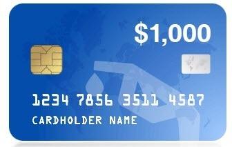 Win 1000 Gas Gift Card