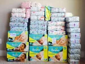 win free pampers diapers