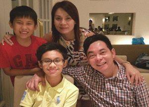 Ewen Chia family