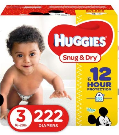 Free Huggies Diapers by Mail