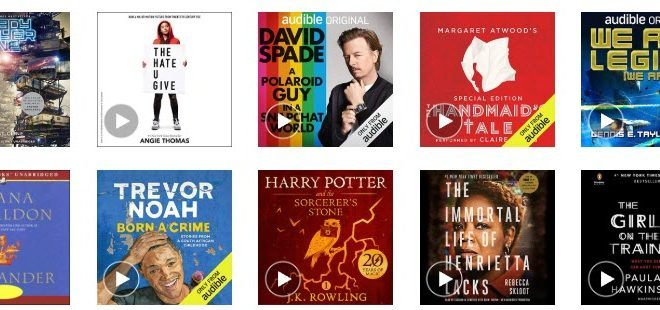 Audible free audio books review