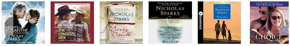 Best Nicholas Sparks audiobooks free