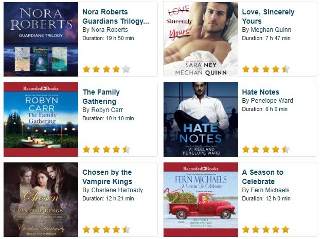 How to Get 800+ Bestselling FREE Romance Audio Books