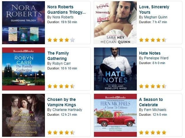 bestselling free romance audio books 2019