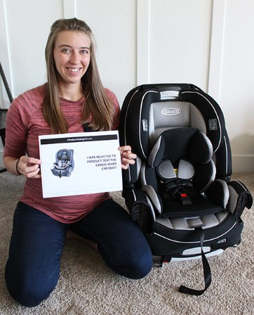 Free baby car chair