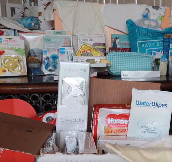 Free baby items and samples