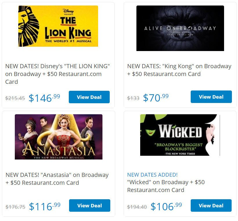 How to get cheap Broadway show tickets