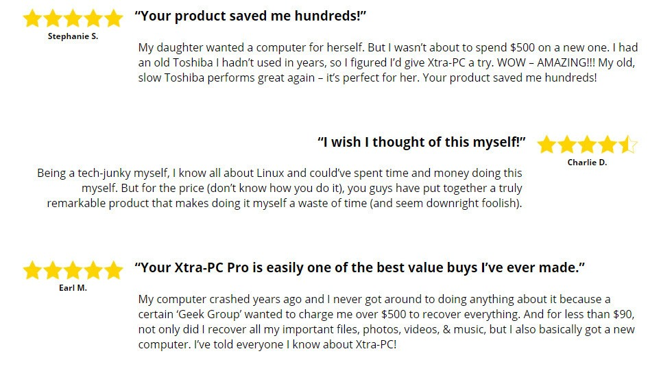 Xtra-PC reviews