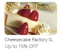 Cheesecake Factory Coupons Discounts