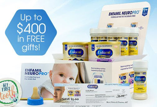 How To Get Free Enfamil Baby Formula Samples Worth 600