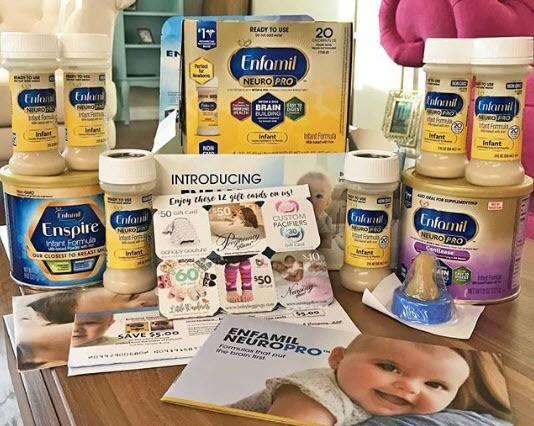Enfamil Baby formula free samples
