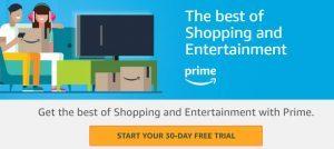 Free Amazon Prime Trial