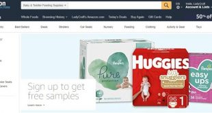 Amazon free baby diaper samples