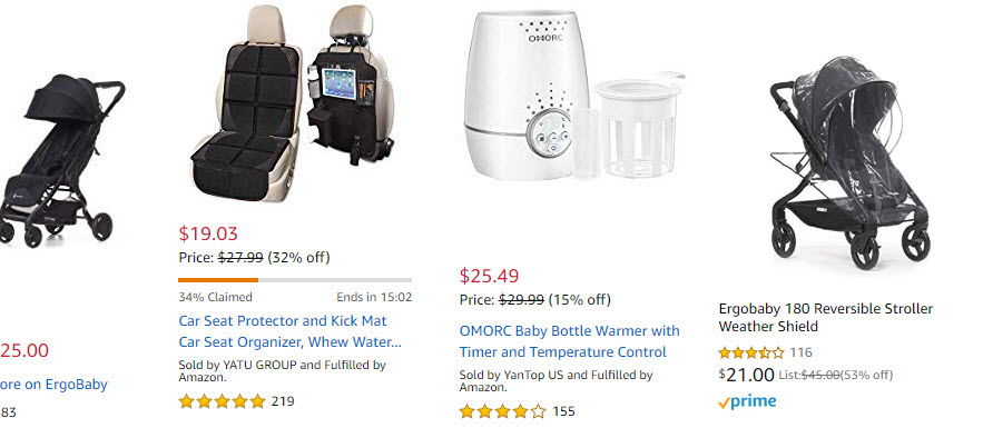 Amazon cheap baby products discounts