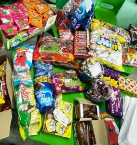 Free candy chocolate snacks samples