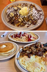 iHop breakfast for free