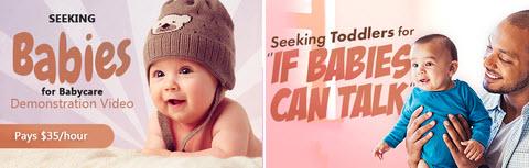 Baby modelling Jobs