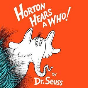 Horton hears a who book in audio