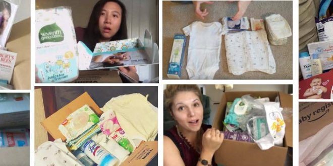 amazon baby registry free baby box
